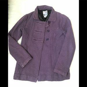 Split purple jacket size Medium